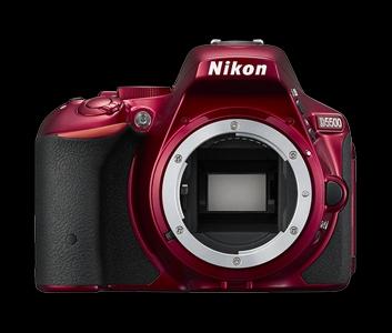 NIKON D5500 tělo - 24,2 MP - Red - VBA441AE