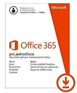 Office 365 Personal 32-bit/x64 All Lng - předplatné na 1 rok - elektronická licence - QQ2-00012