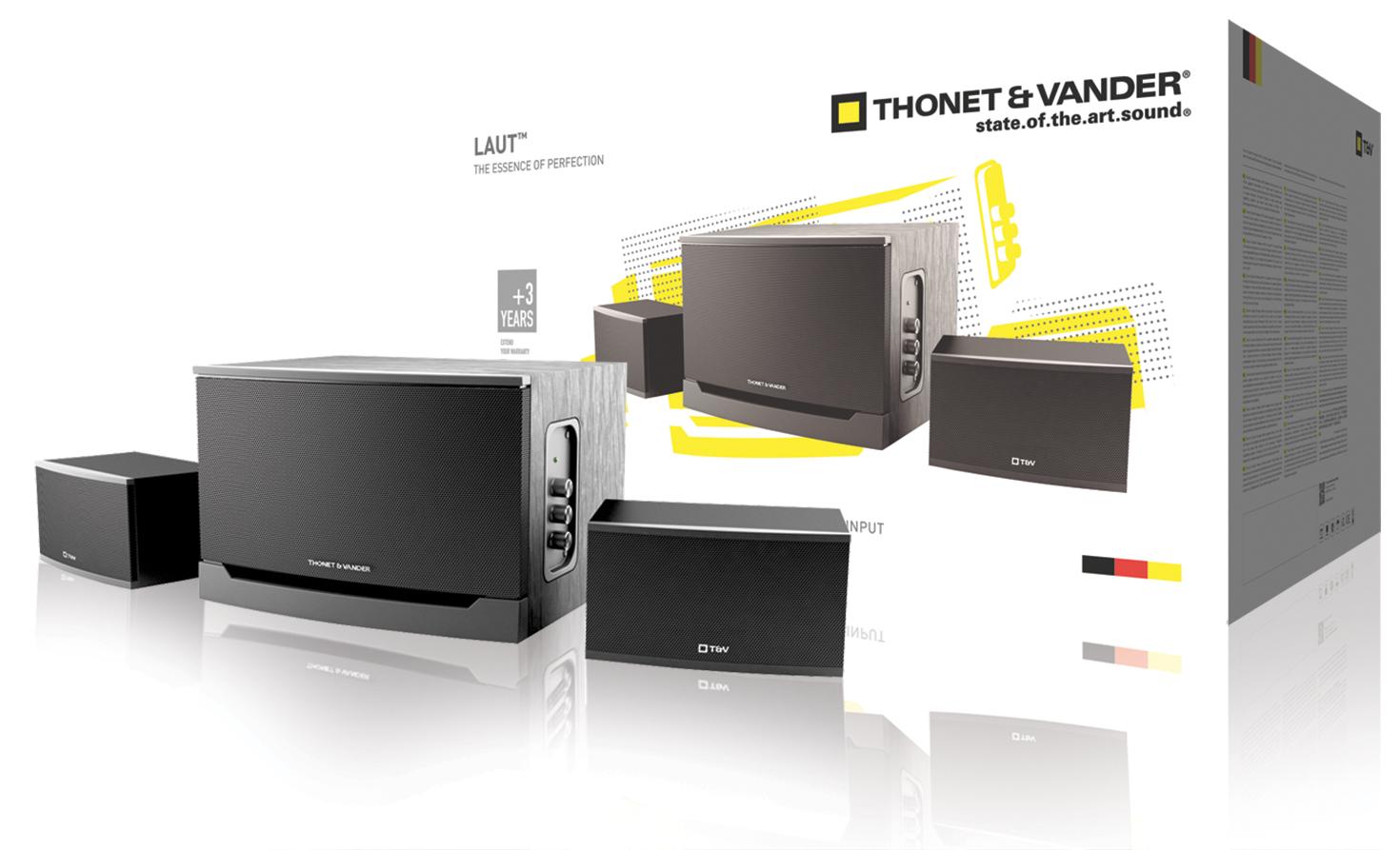 Thonet & Vander TH-03540BL - Laut - reproduktory 2.1, 35W - TH-03540BL