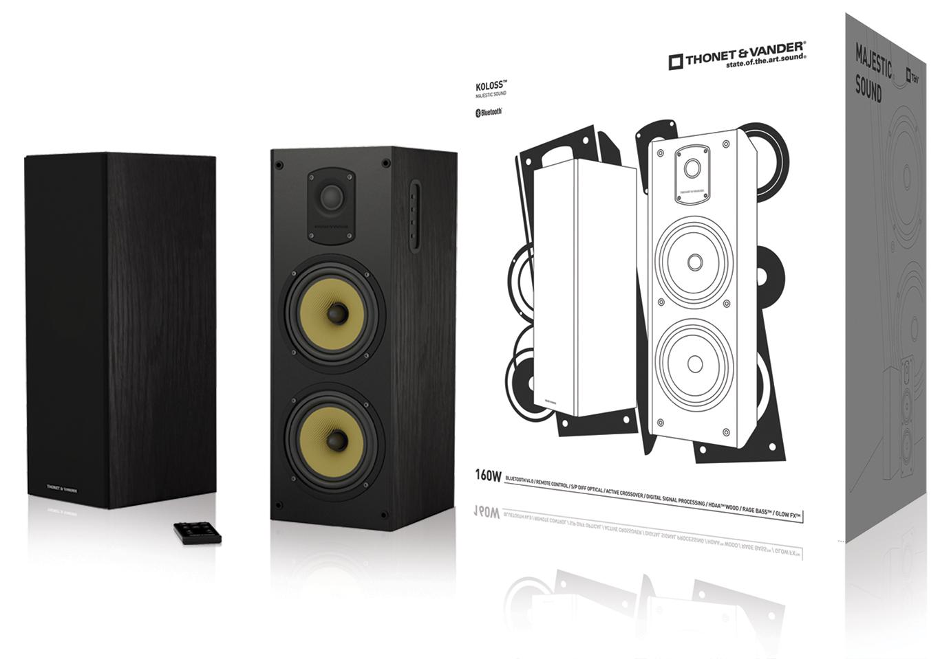 Thonet & Vander TH-03560 - Koloss Bluetooth - TH-03560