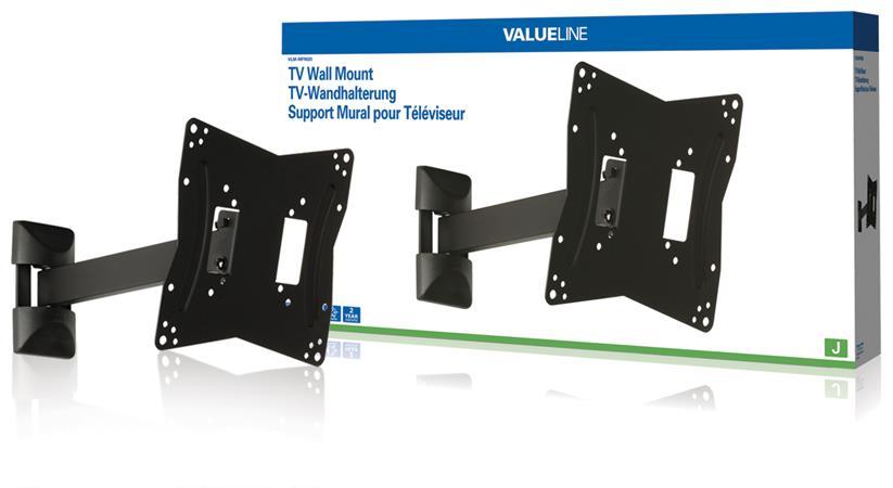 """Valueline VLM-MFM20 - Nástěnný držák televizoru, full motion, 26 až 42""""/ 66 až 107cm, 30kg - VLM-MFM20"""