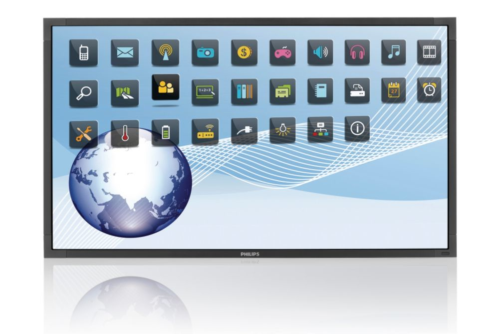 "Philips LCD 55"" BDL5556ET Public Display - Multi Touch Screen (6-touch points) - BDL5556ET/00"