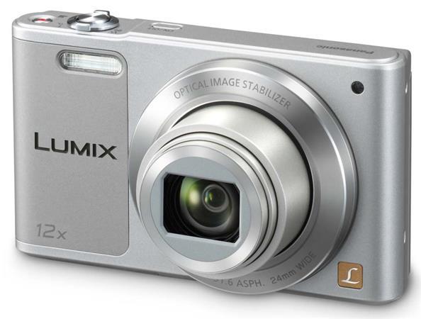 Panasonic DMC-SZ10EP-S, 16Mpx, 12x zoom 24mm, OIS, HD, WiFi, stříbrná - DMC-SZ10EP-S
