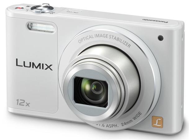 Panasonic DMC-SZ10EP-W, 16Mpx, 12x zoom 24mm, OIS, HD, WiFi, bílá - DMC-SZ10EP-W