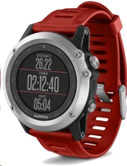 Garmin fenix3 Silver,chytré hodinky,GPS/GLONASS, výškoměr, barometr, kompas, teploměr - 010-01338-06