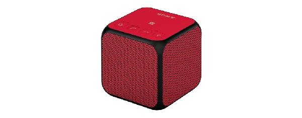 SONY SRS-X11 Přenosný bezdrátový reproduktor s technologií Bluetooth® -Red - SRSX11R.CE7