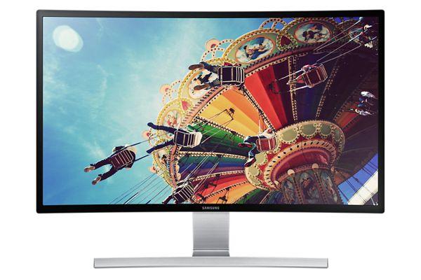 """Samsung LED LCD 27"""" S27D590C - prohnutý, VA, 1920x1080, 4ms, 350cd, VGA, HDMI, DP, černý lesklý - LS27D590CS/EN"""