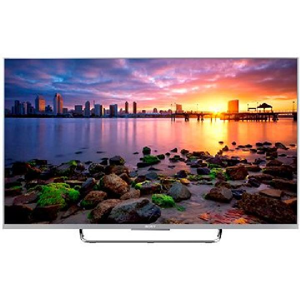 SONY BRAVIA KDL-55W756C Android Full HD TV - Silver - KDL55W756CSAEP