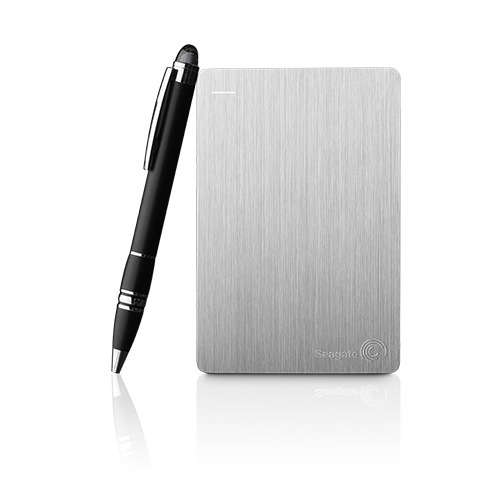 "Seagate Backup Plus Slim Portable, 500GB externí HDD, 2.5"", USB3.0, stříbrná - STCD500204"