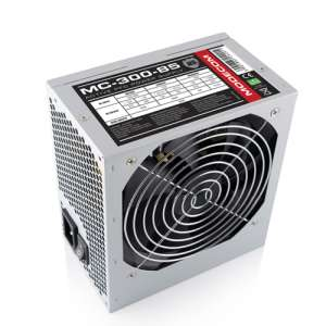 Modecom zdroj MC-300-85, 300W, ATX 2.4, 12cm FAN, aktivní PFC, silent - ZAS-MC85-FS-300-ATX-APFC-EXP