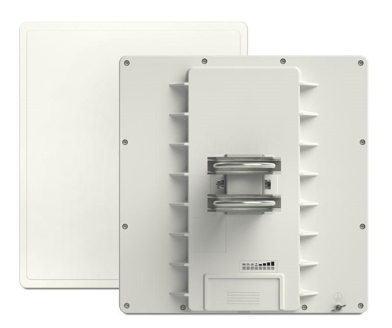QRT 5 ac - RB911G-5HPacD-QRT, 802.11ac HP, 24dbi dual, 5GHz, ROS L4, GPOE, GLAN, PSU, pole mount - RB911G-5HPacD-QRT