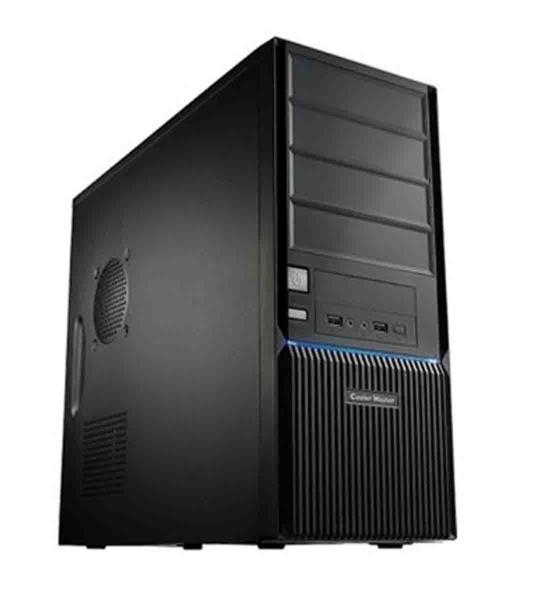 CoolerMaster case miditower CMP 350, ATX, 500W 12cm fan, PFC, USB3.0, black - RC-350-KKR500-N4