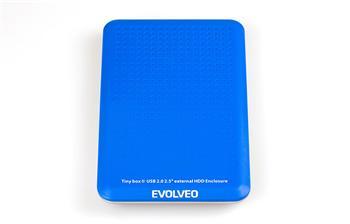 """EVOLVEO TinyBox II - 2,5"""" externí rámeček na HDD, USB 2.0 - BN-E10U2"""