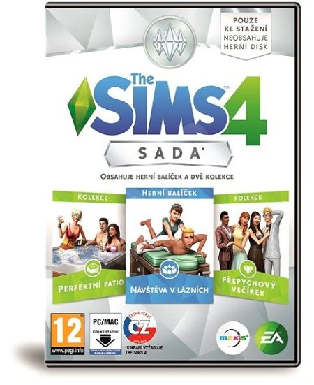 Electronic Arts PC hra The Sims 4 Bundle Pack - 1032013