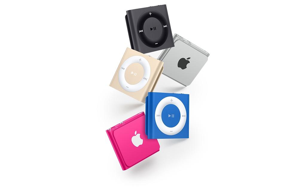 Apple iPod shuffle 2GB - White & Silver - MKMG2HC/A