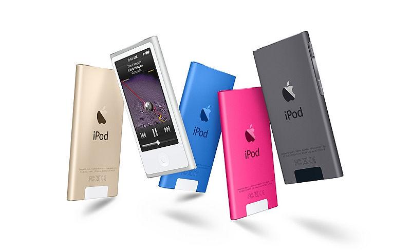 Apple iPod nano 16GB - White & Silver - MKN22HC/A