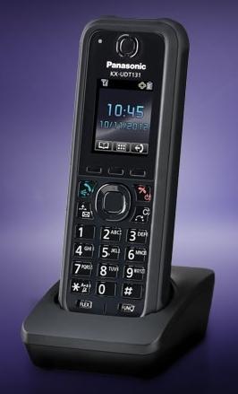 Panasonic KX-UDT131CE, odolné vícebuňkové SIP DECT sluchátko pro TGP600 - KX-UDT131CE