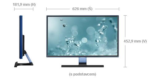 """Samsung LED LCD 27"""" S27E390 - PLS/1920x1080/1000:1/4ms/300cd/D-SUB/HDMI - LS27E390HS/EN"""