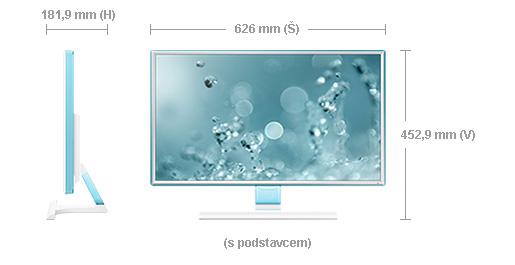 """Samsung LED LCD 27"""" S27E391 - PLS/1920x1080/1000:1/4ms/300cd/D-SUB/HDMI/bílý - LS27E391HS/EN"""