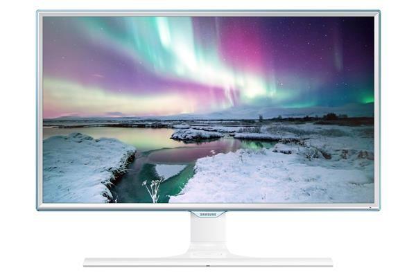 """Samsung LED LCD 24"""" S24E370 - PLS/1920x1080/4ms/250cd/D-SUB/DP/HDMI/bezdrátové dobíjení - LS24E370DL/EN"""