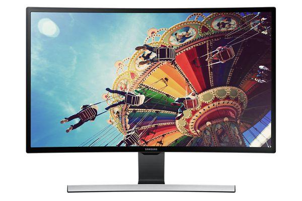 """Samsung 27"""" LCD T27D590C - prohnutý, HD tuner, VA/1920x1080/3000:1/5ms/D-SUB/2xHDMI/USB/SCART - LT27D590CW/EN"""
