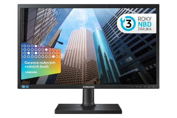"""Samsung LED LCD 24"""" S24E650 - PLS/1920x1080/1000:1/4ms/250cd/D-SUB/DP/HDMI/USB - LS24E65UPL/EN"""