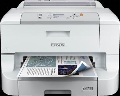 EPSON WorkForce Pro WF-8010DW - A3+/34ppm/4ink/USB/LAN/WiFi/Duplex - C11CD42301
