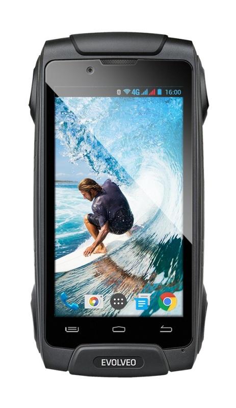 EVOLVEO StrongPhone Q8 LTE,Dual SIM, vodotěsný odolný Android Octa Core smartphone - SGP-Q8-LTE-B