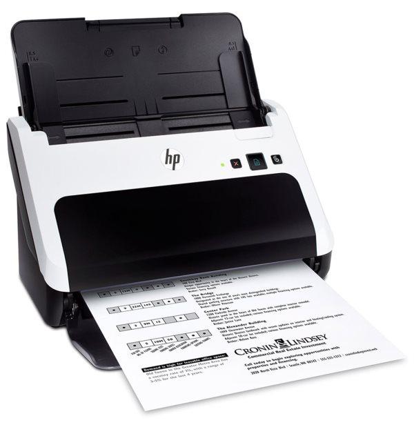 HP Scanjet Professional 3000 S2 Sheet-feed Scanner(A4,600x600,USB 2.0, podavač dokumentů) - L2737A