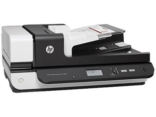 HP Scanjet Enterprise Flow 7500 Flatbed Scanner (A4,600x600,USB 2.0) - L2725B