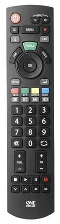 One For All Panasonic URC1914 - univerzální dálkový ovladač pro TV Panasonic - 3233019140
