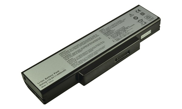 2-Power baterie pro ASUS K72, 10,8V, 4400mAh - K73E, N71J, N71V, N73Jf, N73SV, Pro72A, Pro72SL, PRO7 - CBI3329B
