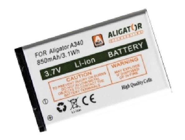 Aligator Baterie A340/A310/A311/V600, Li-Ion 850 mAh - A3400BAL