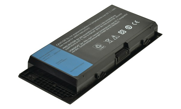 2-Power baterie pro DELL Precision M4600, M6600, M6700 11,1 V, 6900mAh, 9 cells - CBI3356A