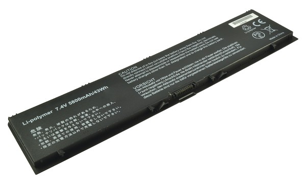 2-Power baterie pro DELL Latitude E7440 7,4 V, 5800mAh - CBP3444A
