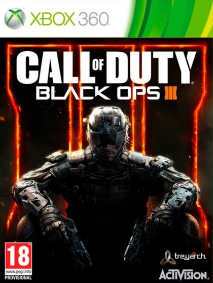 ActiVision XBox 360 Call of Duty: Black Ops III - C1522168