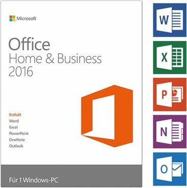 MS Software :Microsoft Office Home and Business 2016 - urceno pro produkty Dell - 630-ABDD