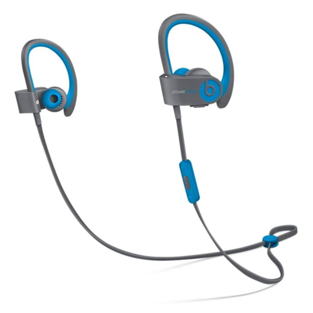 Apple Beats by Dr. Dre Powerbeats 2 Wireless In-Ear Headphones Active Collection - Blue - MKQ02ZM/A
