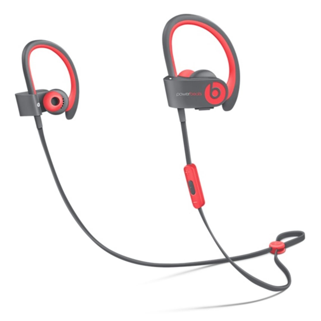 Apple Beats by Dr. Dre Powerbeats 2 Wireless In-Ear Headphones Active Collection - Red - MKPY2ZM/A