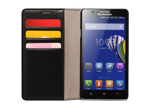 Pouzdro pro Lenovo Smartphone A536 Flip Case Black -