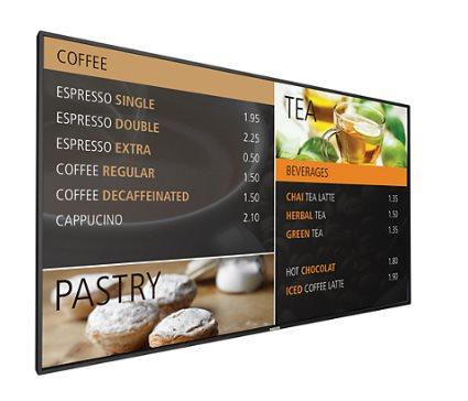 "Philips LCD 42"" BDL4270EL Public Display - EDGE LED Slim - BDL4270EL/00"