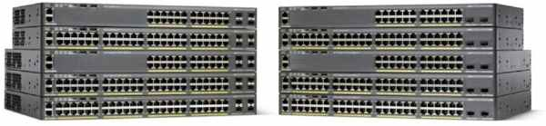 Cisco Catalyst 2960-X 24 GigE, 4x 1G SFP, LAN Base - WS-C2960X-24TS-L