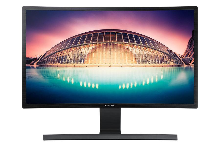 """Samsung LED LCD 27"""" S27E500C - prohnutý 16:9/VA/1920x1080/3000:1/4ms/250cd/D-SUB/HDMI/VESA - LS27E500CSZ/EN"""