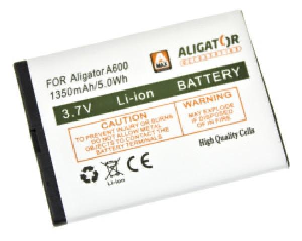 Baterie ALIGATORA600/A610/A620/A430/A680, Li-Ion 1350 mAh - A600BAL