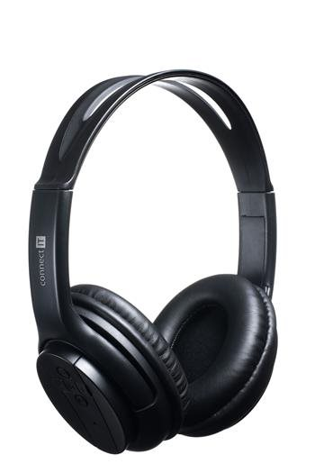 CONNECT IT bluetooth stereo sluchátka s mikrofonem, černé - CI-255