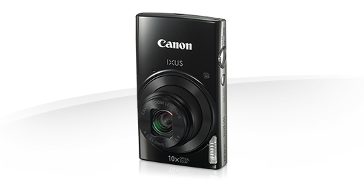 "Canon IXUS 180 BLACK - 20MP, 10x zoom, 24-240mm, 2,7"", HD video - 1085C001"