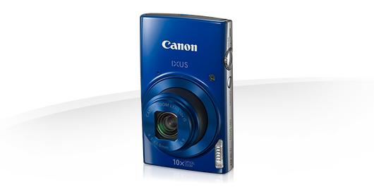 """Canon IXUS 180 BLUE - 20MP, 10x zoom, 24-240mm, 2,7"""", HD video + pouzdro CANON - 1091C001"""