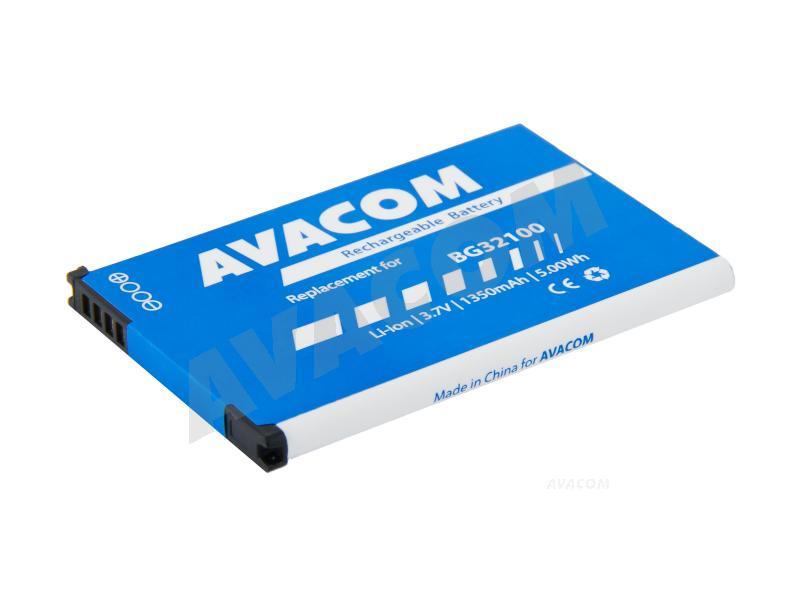 Náhradní baterie AVACOM Baterie do mobilu HTC Desire Z Li-Ion 3,7V 1350mAh (náhrada BG32100) - PDHT-S710-1350