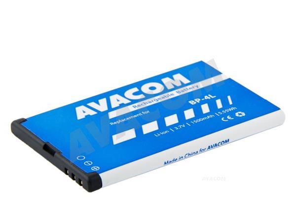 Náhradní baterie AVACOM Baterie do mobilu Nokia E51, N81, N81 8GB, N82, Li-Ion 3,6V 1100mAh (náhrada - GSNO-BP4L-S1500A