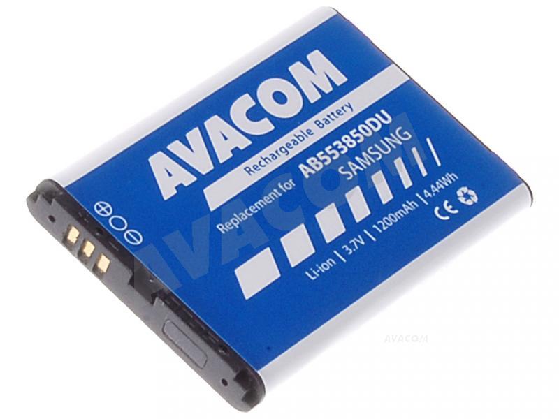 Náhradní baterie AVACOM Baterie do mobilu Samsung D880 DuoS Li-Ion 3,6V 1200mAh (náhrada AB553850DU) - GSSA-D880-S1200A